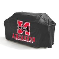 Mr. Bar-B-Q, Inc. 07723NEBGD Nebraska Grill Cover, Black