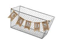 Mud Pie Cards Chicken Wire Basket