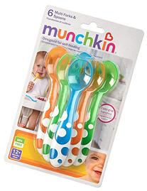Munchkin Fork and Spoon Set - 3 Packs Of 6 Count = 18 Count