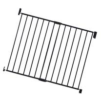 Munchkin Push to Close Extending Baby Safety Gate, Dark Grey