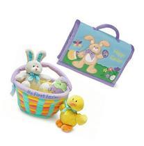 My First Easter Basket & Photo Album Gift Bundle