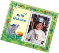 My First Graduation - Elephants Back to School Picture Frame
