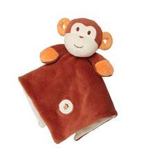 My Natural Lovie Blankie, Brown Monkey