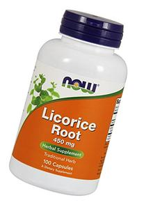 NOW Foods - Licorice Root 450 mg 100 caps