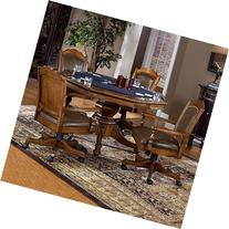 Nassau 5-Piece Game Set w/Leather Back Game Chair