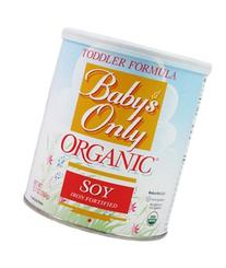 Nature's One: Baby's Only Organic Soy Iron Fortified Toddler