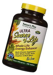 Nature's Plus - Ultra Source Of Life With Lutein - No Iron