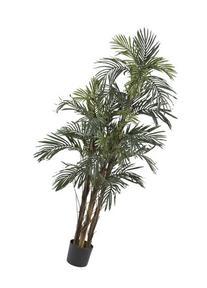 Nearly Natural 5283 Robellini Palm Silk Tree, 5-Feet, Green