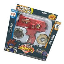 Rapidity Beyblade Set with Metal Fusion Fight Master Tops,