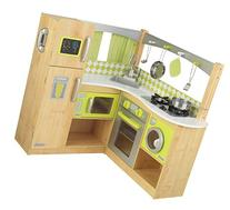 New Limited Edition Kidkraft Wooden Lime Green Corner