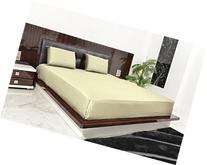 New Luxurious 100% Egyptian Cotton 600TC Queen Size 1PC