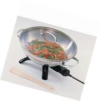 New - Stainless Steel Wok by Presto