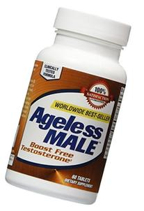 New Vitality - Ageless Male - 60 Tablets by NAC Marketing