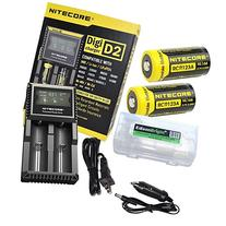 Nitecore D2 Digicharge universal home/in-car battery charger