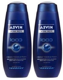 Nivea For Men Body Wash - Cool - 16.9 oz - 2 pk