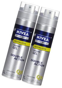 Nivea For Men Energy Shaving Gel - 7 oz - 2 pk