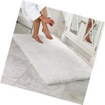 Norcho Soft Microfiber Non-slip Rubber Luxury Area Rug for