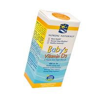 Nordic Naturals - Baby's Vitamin D3 Drops, Healthy Bones and