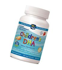Nordic Naturals Children's DHA 250 mg Chewables, Strawberry