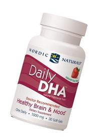 Nordic Naturals - Daily DHA, Healthy Brain and Mood Support
