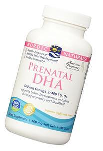 Nordic Naturals - Prenatal DHA 180 Softgels- 2 Pack