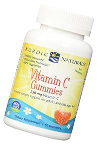 Nordic Naturals Vitamin C Gummies - Chewable Tangerine Gummy Provides Daily Dose Of Essential Nutrient Vitamin C For Immune System Support and