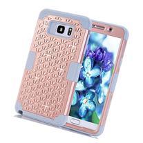 Note 5 Case,SAVYOU Diamond Studded Crystal Rhinestone 3 in 1