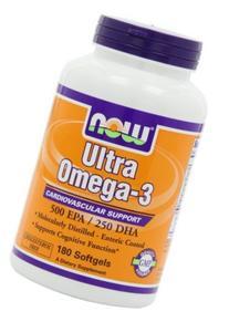 Now Foods Ultra Omega-3 - 180 Softgels