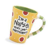 "Nurse 12 Oz Coffee Mug/cup with ""I'm A Nurse"" What's Your"