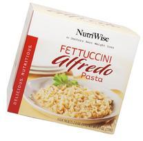 NutriWise - Fettuccini Alfredo Pasta Diet Entree