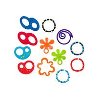 O Ball 12 Linky Loops Toy