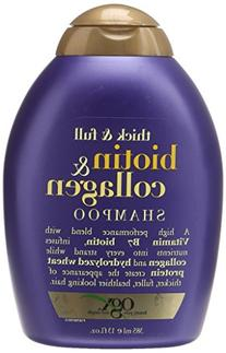 OGX Shampoo with Thick and Full Biotin and Collagen, 13