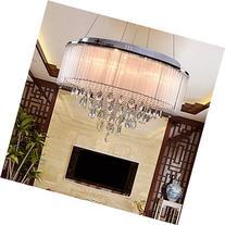 OOFAY LIGHT® G4 8-head modern crystal chandelier?art