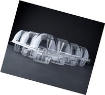 Oasis Supply 12-Compartment Hinged High Dome Clear Cupcake