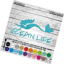 Ocean Life Mermaid - Vinyl Die Cut Decal Sticker for Car,