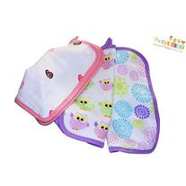 Baby Washcloths And Towel For Girls Infant & Adults. 3 Pack