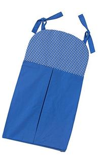 One Grace Place Simplicity Blue Diaper Stacker, Blue and
