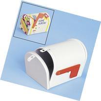 One White Tinplate Mailbox