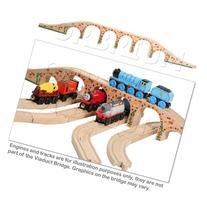Orbrium Toys 6 Arches Viaduct Bridge for Wooden Railway