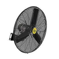 "Outdoor Oscillating Wall Mounted Fan, 30"" Diameter, 3/10hp,"