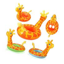 PVC Giraffe Baby Child Inflatable Swimming Pool Bath Raft