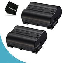 Pack of 2 - EN-EL15 High Capacity Batteries for Nikon DSLR