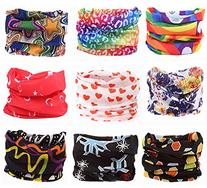 Pack of 9PCS, Outdoor Multifunctional Sports Magic Scarf,