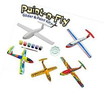 Paint-N-Fly Plane Glider and Paint Kit Twister Model