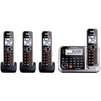 Panasonic KX-TG7874S Link2Cell Bluetooth Enabled Phone with