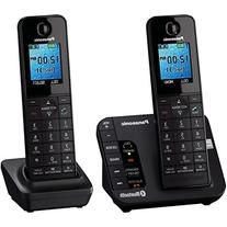 KX-TGH262B Link2Cell Bluetooth Enabled Phone with Answering