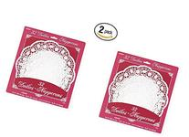 Paper Doilies Assorted Round 32/Pkg-White