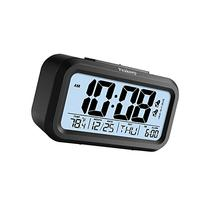 Peakeep Battery Digital Alarm Clock with 2 Alarms for
