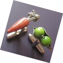 Peas and Carrots Cufflinks