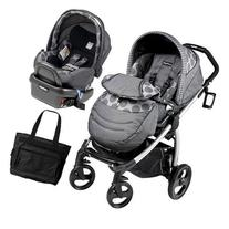Peg Perego - Book Plus Stroller Travel System with a Diaper